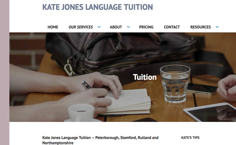Kate Jones Language Tuition