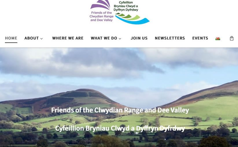 Friends of Clwydian Range & Dee Valley